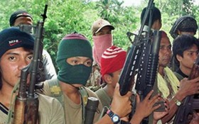 圖為阿布沙耶夫武裝人員。(示意圖源:AFP)