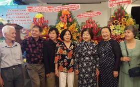 原國家副主席張美華(右三)動員會員響應活動。