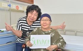 黃秀英與廣州現代腫瘤醫院主治醫師。
