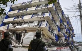 墨西哥地震遇難人數升至 62 人。(資料圖源:互聯網)