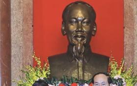 國家主席陳大光接收 APEC 商務諮詢委員會的報告。