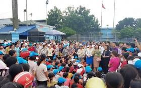 地方政權配合該公司領導與勞動者舉行對話並接受勞動者的建議。