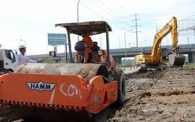 環市二路在改建施工中。(圖源:制伸)