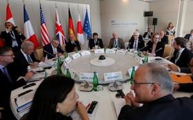 7 國集團與網絡巨頭擬聯手刪帖。(圖源:AFP)