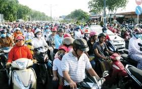 本市交通基礎設施趕不上人口的增長以致一直陷入超負荷狀態。