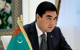 值土庫曼斯坦獨立日26週年紀念,國家主席陳大光向土庫曼斯坦總統庫爾班古力‧別爾德穆哈梅多夫致電祝賀。圖為土庫曼斯坦總統庫爾班古力‧別爾德穆哈梅多夫(Gurbanguly Berdimuhamedow)。(示意圖源:互聯網)