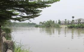途經第九郡的迪哲河畔保護走廊的土地區域雜亂無章。
