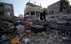兩伊邊境強震致 5340 多人傷亡,到處一片狼藉。(圖源:Getty)