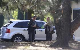 警方在槍擊現場調查。(圖源:AP)