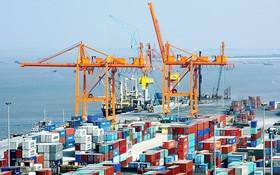 今年10月份,全國貿易順差價值達21億8000萬美元,是歷來最高的一個月,環比高近一倍,原因是電話出口額維持高幅度增長。(示意圖源:互聯網)