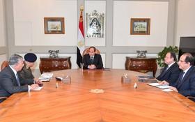 埃及總統緊急召開會議應對恐襲。(圖源:互聯網)