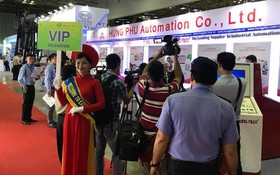 第十四次工業自動化與設備展覽(2017 VCCA)開幕一隅。(圖源:互聯網)