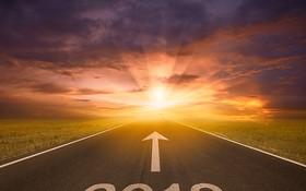 2018年翻開嶄新的希望。(示意圖源:互聯網)
