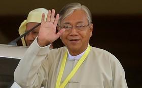 圖為緬甸總統廷覺。(圖源:互聯網)