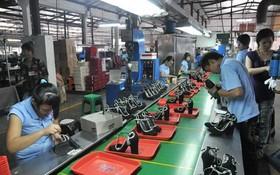 工商部最近表示,2017年前11個月,輸往外國的鞋類出口額同比增13%,達131億9000萬美元。(示意圖源:互聯網)