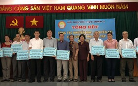 23個集體單位獲郡人委會表彰,其中有多個華人會館。