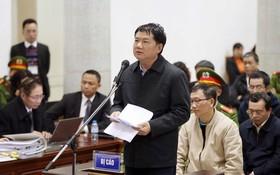 被告丁羅昇自行辯護,不僅承擔本身責任,還為下級承擔責任。(圖源:越通社)