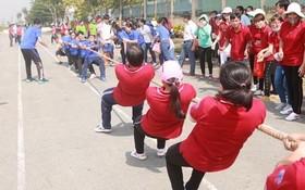 文藝、體育活動有助勞動者緩解工作壓力和緊張情緒。