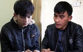 引爆 ATM 櫃員機的兩名嫌犯阮文協(左)和阮廷城。(圖源:德宇)