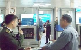 圖為機場安檢區域。(示意圖源:互聯網)