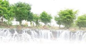 新春旅遊攻略。圖為同奈省展邦縣江田瀑布一瞥。