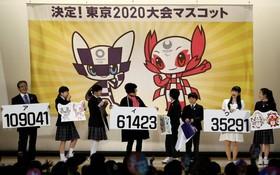 2020 年東京奧運會吉祥物揭曉。(圖源:互聯網)