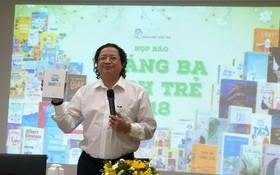年輕人出版社社長阮明日推介新書。