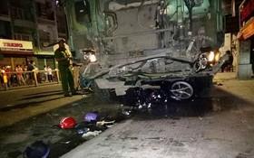 卡車在日前凌晨於舊邑郡潘文治街造成嚴重交通事故。