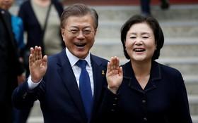韓國總統文在寅與夫人將從本月22至24日前來越南進行國事訪問。(示意圖源:路透社)