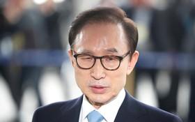 韓國前總統李明博。(圖源:路透社)