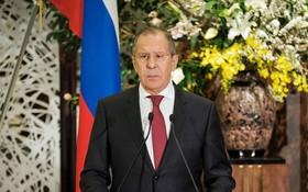 俄羅斯外交部長謝爾蓋‧拉夫羅夫。(圖源:Getty)