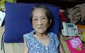 年逾古稀的蔡楚珍身體很衰弱。