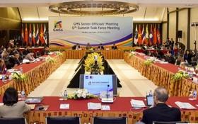 大湄公河次區合作(GMS)第六次高官會議現場一瞥。