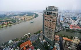 圖為Saigon One Tower大廈工程。(圖源:瓊陳)