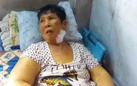 陳王大娘病情日益加重,身體很衰弱。