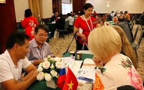 越俄雙方企業進一步交流,尋求共創雙贏的合作模式共同拓展商機。(圖源:陳堅)