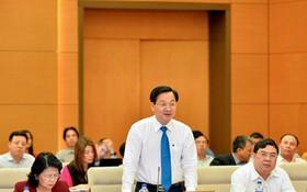 政府總監察長黎明概在會上發言。(圖源:CTV)