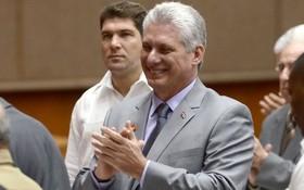 迪亞斯‧卡內爾出席古巴第九屆全國人民政權代表大會。(圖源:互聯網)