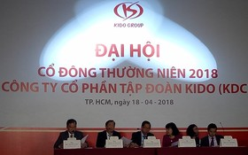 Kido集團現已完成收購芽皮Golden Hope食油公司51%股份。圖為Kido 2018年股東大會一瞥。(示意圖源:秋風)