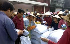 政府副總理王廷惠最近簽署了在今年青黃不接時期給清化、安沛兩省人民輔助900噸大米的《決定》。(示意圖源:互聯網)