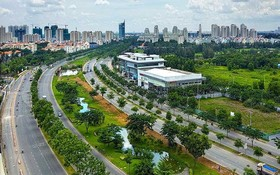 沿著阮友壽街-朝海發展的南面區域幹線沿途正形成許多新居民區。
