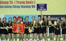 中國江蘇隊奪得冠軍。