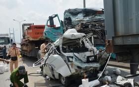 富美橋上頻發多起嚴重交通事故的原因是車輛超速行駛。(圖源:玉欣)