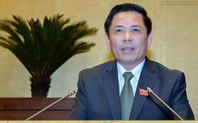 交通與運輸部長阮文體將於本月4日上午首次答詢國會代表的質詢。(圖源:Quochoi.vn)