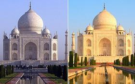 """印度將用科學研究""""確定""""泰姬陵顏色。(圖源:互聯網)"""