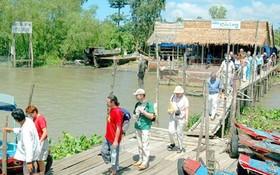 今年上半年,安江省迎接約360萬人次遊客;同比增5.4%,其中,國際遊客約2萬4000人次。(示意圖源:互聯網)