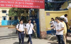 陳開源高中學校是華文科的高考地點。