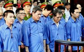 被告人楊清強(前左二)與共犯。(圖源:春維)