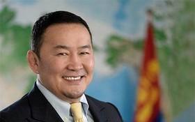 圖為蒙古總統哈勒特馬‧巴特圖勒嘎。(圖源:互聯網)