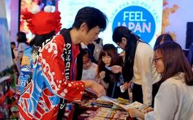 """""""2018年在越南感受日本""""的日本文化節一瞥。(圖源:世英)"""